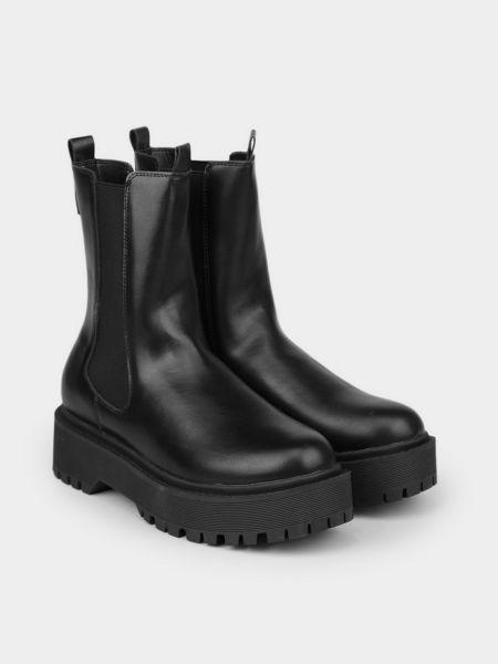 Ботинки челси - черные M Wone
