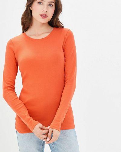 Оранжевый лонгслив United Colors Of Benetton
