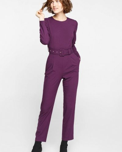 Брючный комбинезон фиолетовый Musthave