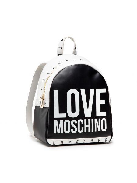 Torba sportowa - czarny Love Moschino