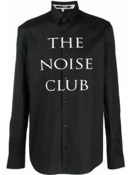 Klasyczna koszula - czarna Mcq Alexander Mcqueen