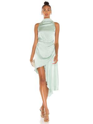 Платье атласное - мятное Elliatt