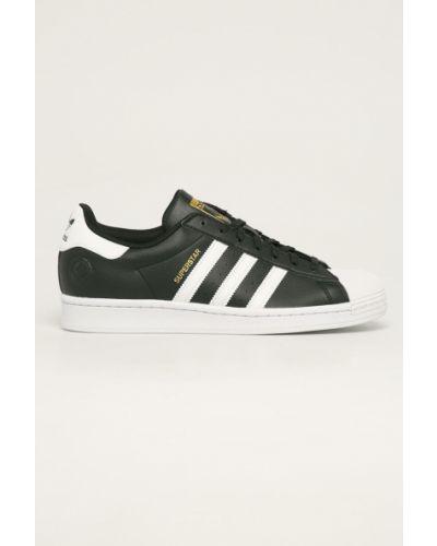 Czarne sneakersy sznurowane Adidas Originals