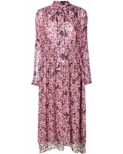 Платье миди с цветочным принтом Cédric Charlier
