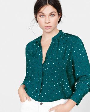 Блузка с длинным рукавом зеленый Violeta By Mango