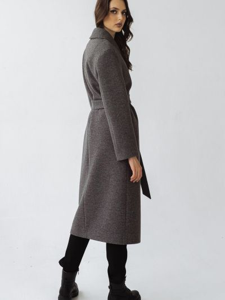 Серое пальто Vovk