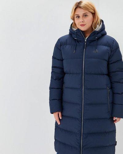 Зимняя куртка осенняя синий Jack Wolfskin