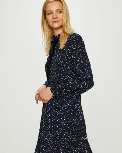 Sukienka mini w pasy z suwakiem Answear