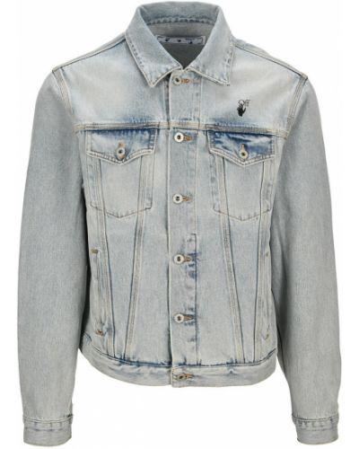 Niebieska kurtka jeansowa Off-white
