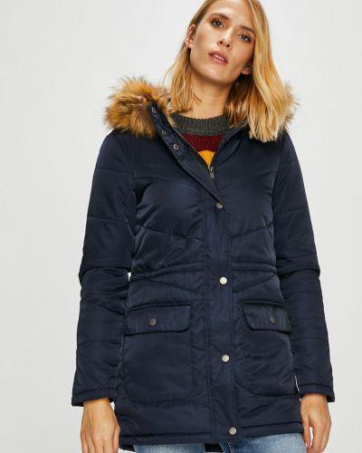 Куртка с капюшоном с карманами утепленная Noisy May