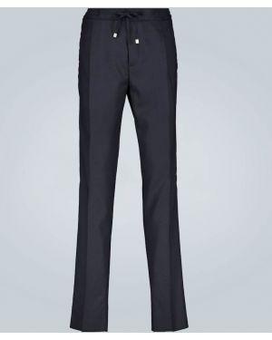 Spodnie na gumce światło jasny kolor Lardini