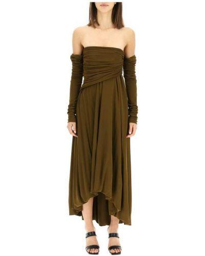 Zielona sukienka Khaite