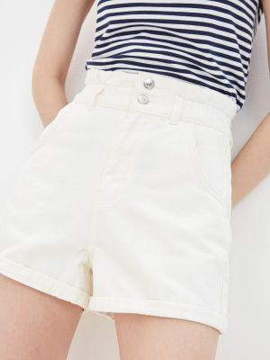 Белые джинсовые шорты Defacto
