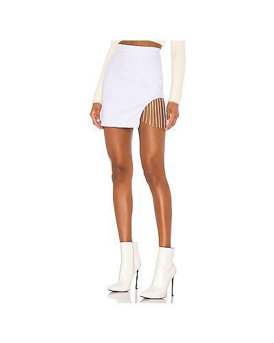 Юбка юбка-колокол белая Superdown