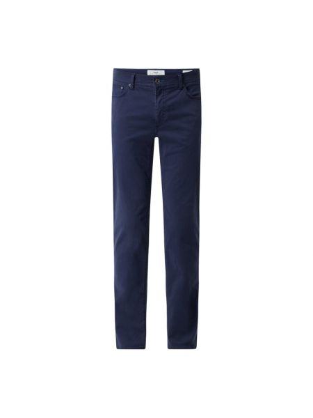 Niebieskie spodnie bawełniane Brax