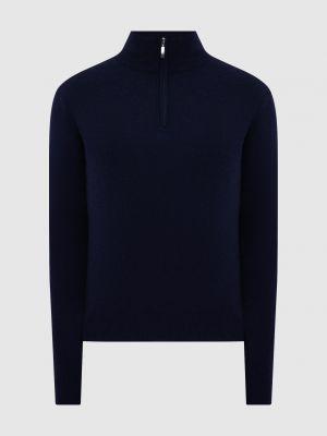 Кашемировый свитер - синий Malo