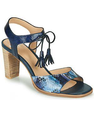 Niebieskie sandały Perlato