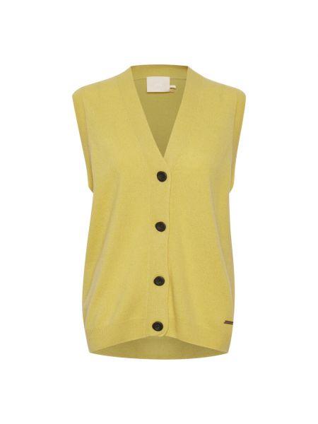 Żółta kamizelka Karen By Simonsen