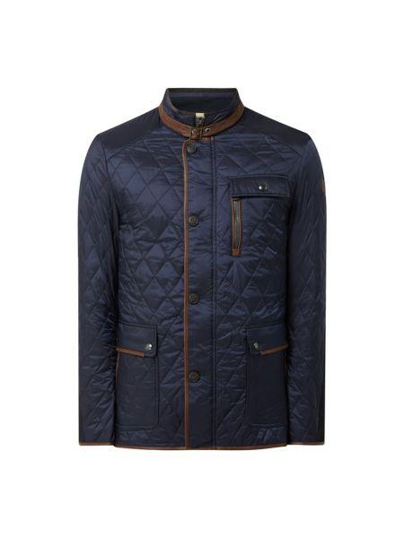 Niebieska kurtka pikowana Milestone