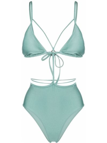 Monokini - zielony Noire Swimwear