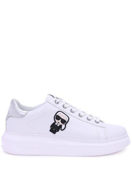 Кроссовки белый с логотипом Karl Lagerfeld