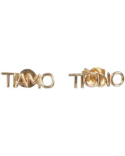 Żółte kolczyki sztyfty Ilaria Ludovici Jewelry