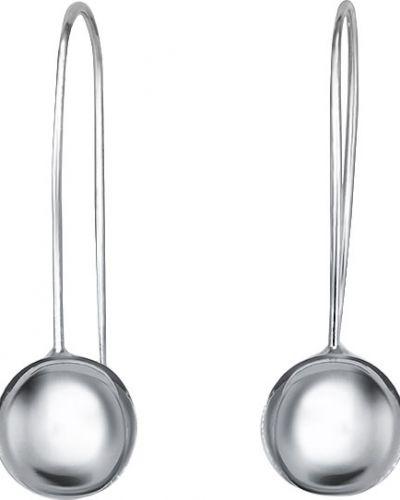 Серебряные серьги серебряный французский Silver Wings