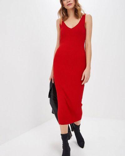 Платье платье-майка красный форма