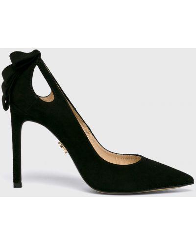 Туфли на каблуке - черные Baldowski