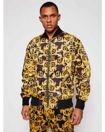 Żółta kurtka Versace Jeans Couture