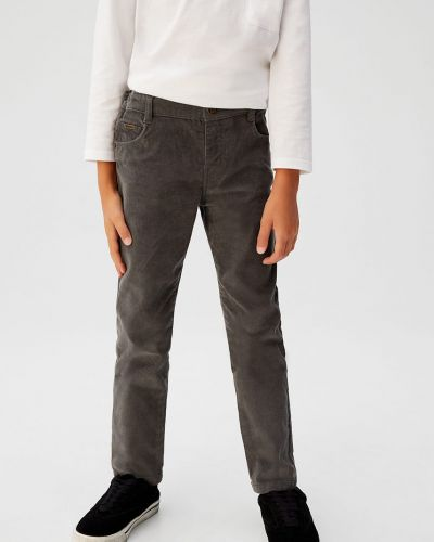 Spodnie wełniany włókienniczy Mango Kids