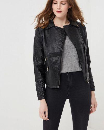 Черная куртка весенняя Fresh Cotton