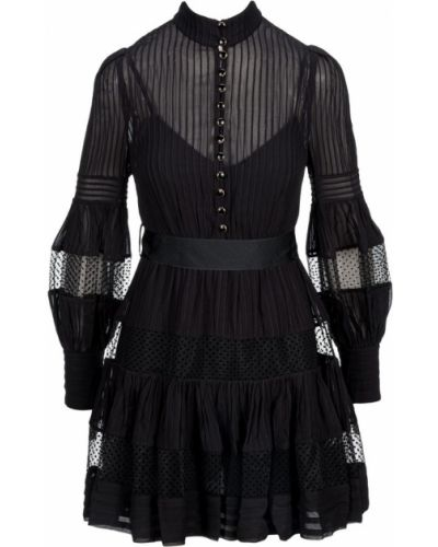 Czarna sukienka Zimmermann