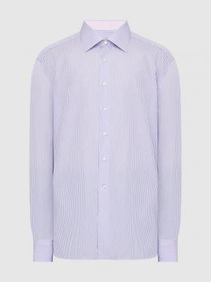 Фиолетовая рубашка Stefano Ricci