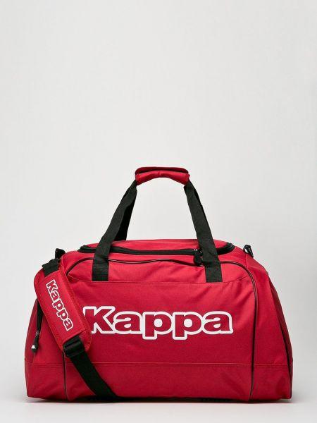 Сумка через плечо из полиэстера - красная Kappa