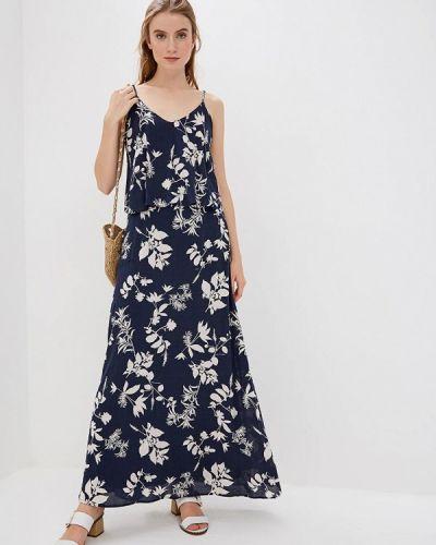Платье весеннее синее Vila