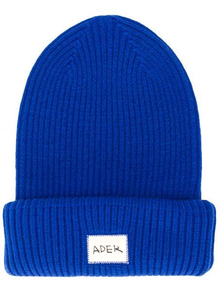 Akryl niebieski czapka z łatami Ader Error