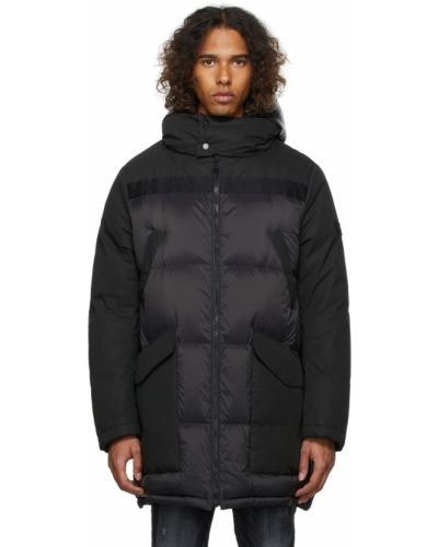 Куртка с капюшоном - черная Yves Salomon Army