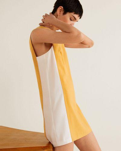 Платье мини прямое на молнии Mango