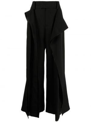 Черные брюки с карманами Undercover