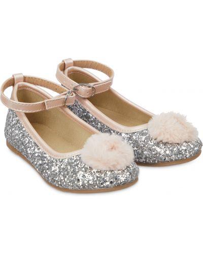 Туфли серебряный Mothercare