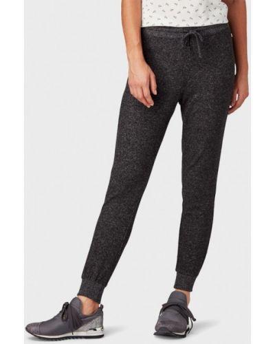 Черные спортивные брюки Tom Tailor Denim