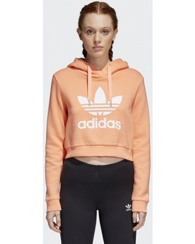 Оранжевая толстовка Adidas Originals