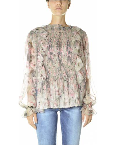 Różowa bluzka Alberta Ferretti