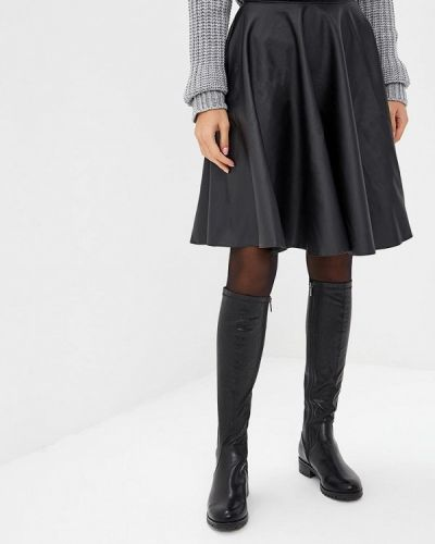 Черная юбка Makadamia