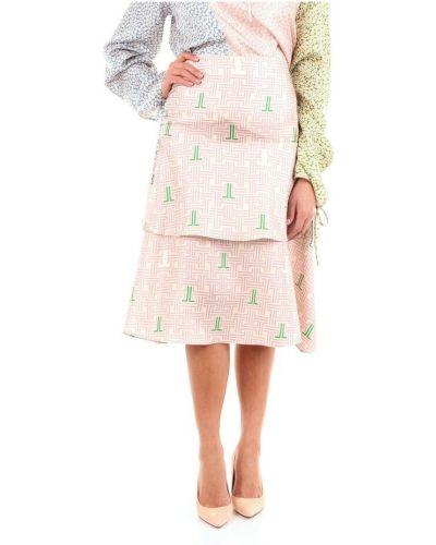 Różowa spódnica Lanvin
