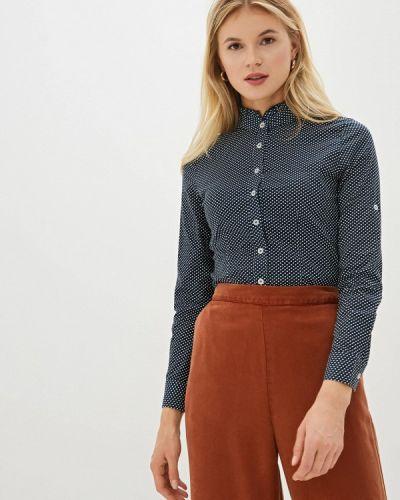 Блузка с длинным рукавом синяя Vittoria Vicci