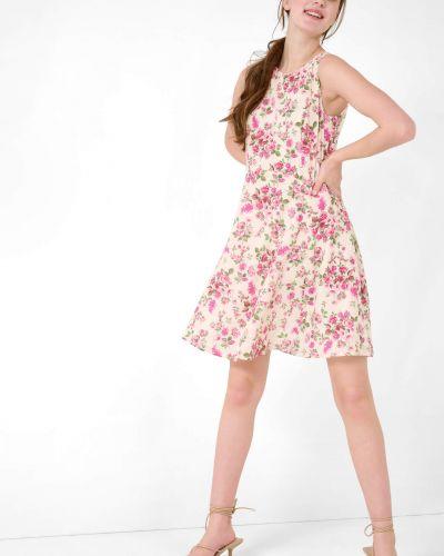 Sukienka rozkloszowana z wiskozy w kwiaty Orsay