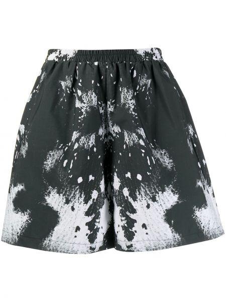 Черные свободные шорты эластичные свободного кроя Barbara Bologna