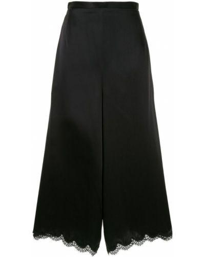 Черные свободные брюки свободного кроя Andrew Gn